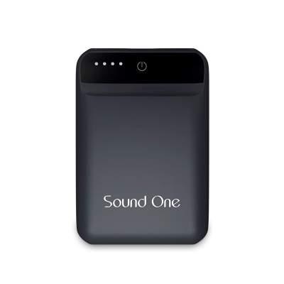 Sound One S1003 10000mAH Lithium Polymer Power Bank (Black)