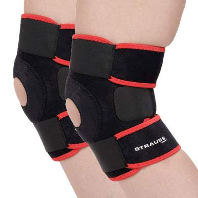 Strauss Adjustable Knee Support Patella, (Free Size)