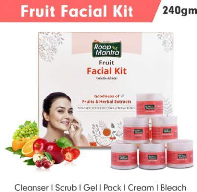 Roop Mantra Fruit Facial Kit for Healthy Skin