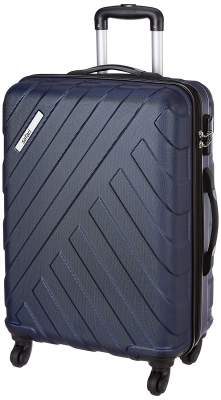 Safari RAY Polycarbonate 53 cms Midnight Blue Hardsided Cabin Luggage