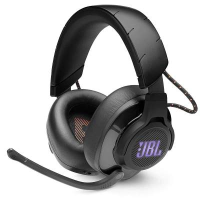 (Renewed) JBL Quantum 600 Wireless Over-Ear Performance Gaming Headset with QuantumSurround, Lossless 2.4GHz Wireless Connectivity,14 Hrs Battery Life (Black)