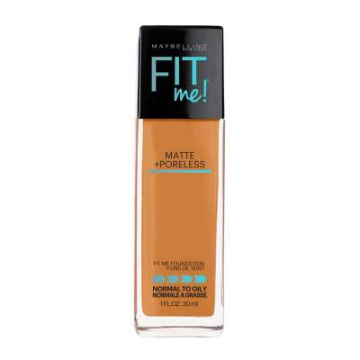 Maybelline New York Fit Me Matte+Poreless Liquid Foundation (With Pump) 125 Nude Beige 30ml
