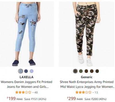 Women's Jeans & Jeggings at Minimum 71% Off