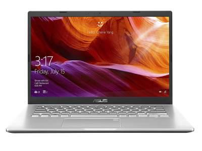 ASUS VivoBook D1401DA-EK166R AMD Quad Core Ryzen 5-3500U 14-inch FHD Thin and Light Laptop (8GB RAM/1TB HDD/Windows 10 Professional/Integrated Graphics/1.60 Kg), Transparent Silver