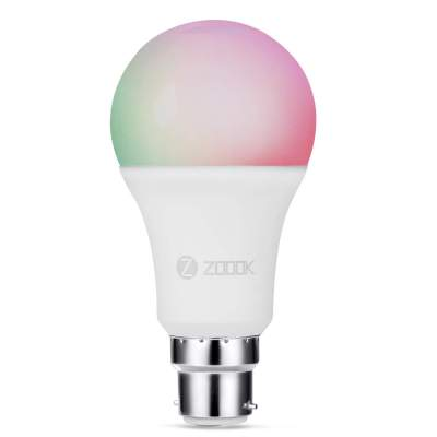 Zoook Shine 9-Watt Smart LED Bulb Compatible with ...