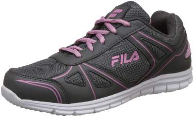 Fila Women's Camila Lt Gry MRL/Pnk Sdw Running Shoes-4 UK/India (38 EU) (11006563)