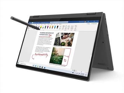 Lenovo Ideapad Flex 5 AMD Ryzen 5 14 inch FHD 2 in 1 Convertible Laptop (8GB/512GB/Windows 10/MS Office/Grey/1.75Kg), 81X2004RIN