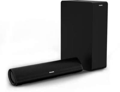 Philips HTL2060/94 60 W Bluetooth Soundbar (Black, 2.1 Channel)