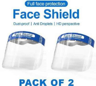 Full Face Shield Mask- Eyes /Nose Protection Helmet Safety Visor