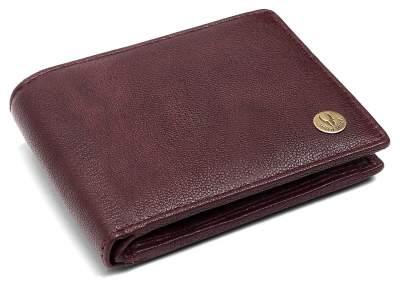 WildHorn RFID Protected New Design Bombay Brown 100% Genuine Men's Leather Wallet