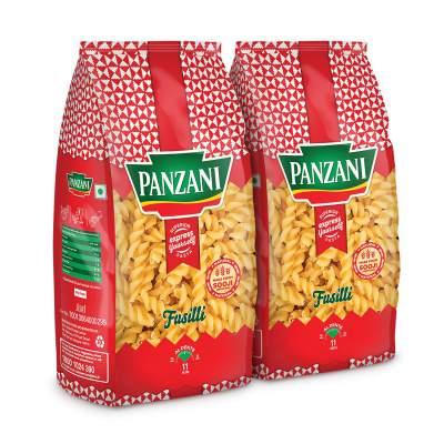 PANZANI Express Fusilli Pasta 2 x 400 g (Pack of 2...
