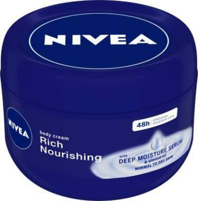 NIVEA Nourishing Rich Body Cream  (250 ml)...