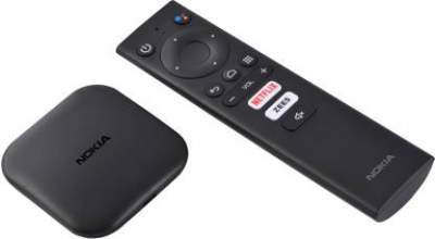 Nokia Media Streamer with Built- In Chromecast (Black)