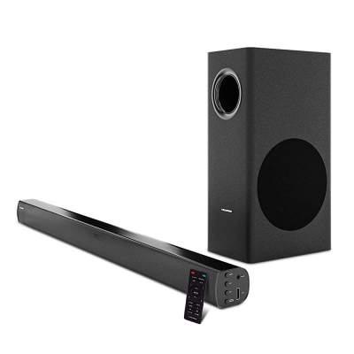 (Renewed) Blaupunkt SBW100 120Watts Wired Soundbar with Subwoofer and Bluetooth...