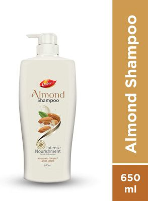 Dabur Almond Shampoo Men & Women  (650 ml)