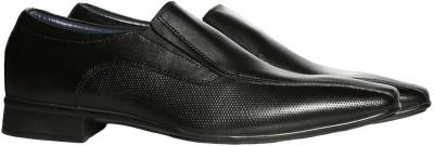 BATA Men's Accent Black Leather Formal Shoes