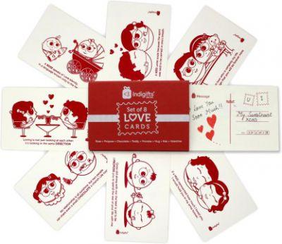 Indigifts Greeting Card Gift Set