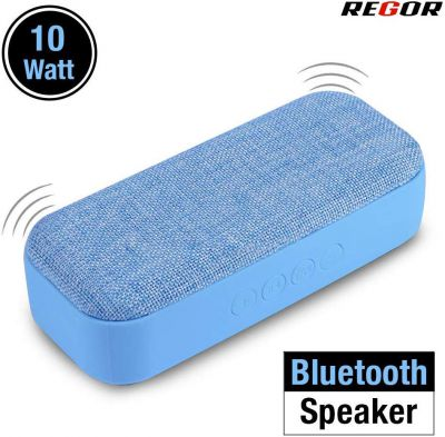 Regor 10 Watt Stereo Bluetooth Speaker for Mobiles, Tablets and Laptops