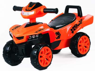 Toyhouse Racing Turbo Push ATV for Kids(1 to 3yrs) , Orange