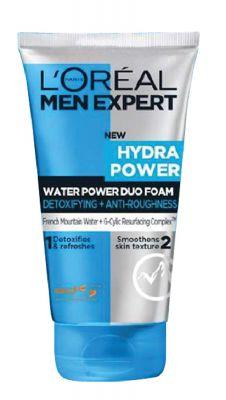 L'Oreal Paris Men Expert Hydra Power Duo Foam Cleanser, 100ml