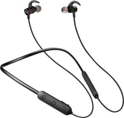Intex BT MUSIQUE PRO Neckband Bluetooth Headset with Mic (Black, In the Ear)