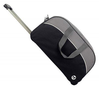 3G Duffle Trolley Black Bag