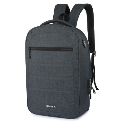 Novex 20 Ltrs Grey Laptop Backpack