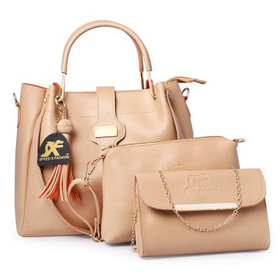 Speed X Fashion Women's Leather Handbag