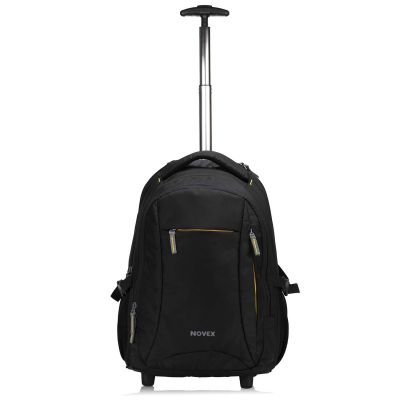 Novex Pacific Nylon 15.6-inch Laptop Trolley Backpack