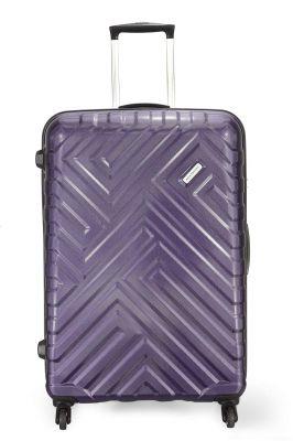 Aristocrat Polycarbonate 56 cms Purple Hardsided Carry On (MAZE56TZMDP)