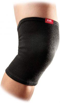 Mc David 510R Elastic Knee Sleeve Supporter, Small (Black)