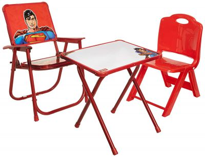 Superman Kids Multipurpose Table and Chair