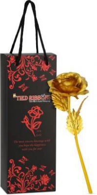 TIED RIBBONS Artificial Flower Gift Set