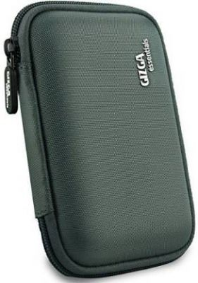 Gizga Essentials Hard Drive Case 2.5 inch Double Padded  (For 2.5-Inch External Hard Drive, Grey)