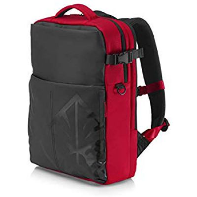 HP OMEN Gaming Business Water Resistant Backpack for 17.3-inch Laptops with Self Repairing Dual Concealed Zippers (4YJ80AA)