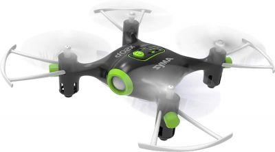 Toyhouse SYMA Mini Pocket Drone  Mode 2.4Ghz Nano LED RC Quadcopter Altitude Hold, Black