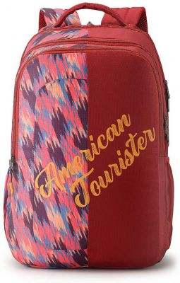 American Tourister Crone 29 Ltrs Magenta Casual Backpack