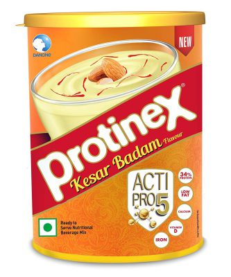 Protinex Kesar Badam with Actipro 5 for Good Muscle Health, 400g