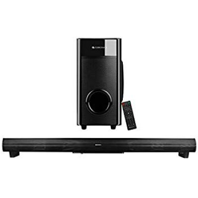 Zebronics Zeb-Juke Bar 4 45 W Bluetooth Soundbar (Black, 2.1 Channel)