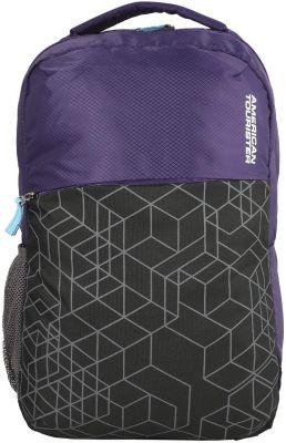 American Tourister Hoodie 02 Purple/Black Unisex Backpack