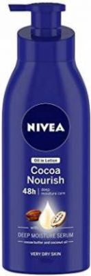 Nivea Cocoa Nourish Oil in Lotion  (200 ml)