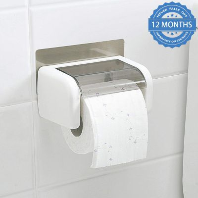 HOKIPO® Magic Sticker Series Toilet Paper Holder in Bathroom