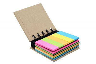 Amigozz Pocket Size Spiral Sticky Note Pad