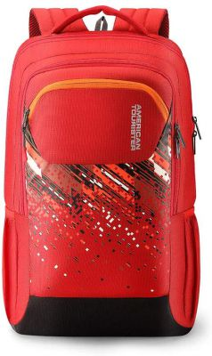 American Tourister Crone 29 Ltrs Red Casual Backpack