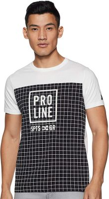Proline Men's Printed Regular fit T-Shirt