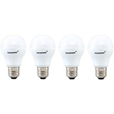 Instapower Base E27 5-Watt LED Bulb (Cool Day Light and Pack of 4) (Cool Day Light)