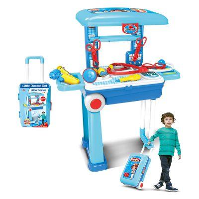 Popsugar 2 in 1 Doctor Set Trolly Toy for Kids