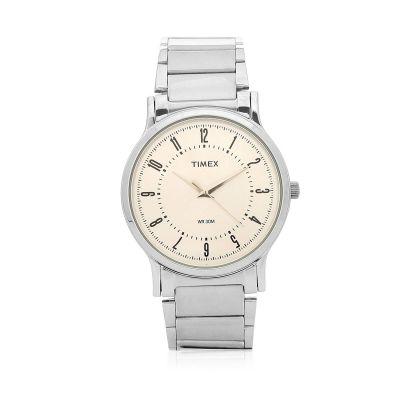 Timex Analog White Dial Men's Watch-TW00ZR195