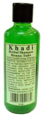 Khadi Parvati Henna Tulsi Shampoo 210ml (Pack of 2)