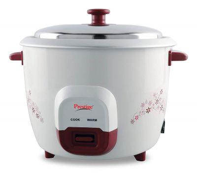Prestige PRWO 1.5 Litre Red Colour Rice Cooker